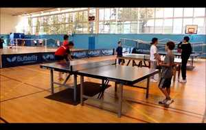 Ping et Pong 3 raquettes